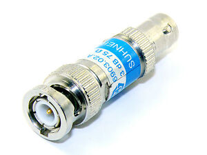 SUHNER 6903.02.A 3dB Attenuator 75Ohms DC - 1GHz BNC - <span itemprop='availableAtOrFrom'>Ozorków, Polska</span> - SUHNER 6903.02.A 3dB Attenuator 75Ohms DC - 1GHz BNC - Ozorków, Polska