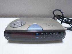 EMERSON AM/FM Digital LED Clock Radio Model CK5028 Battery Backup