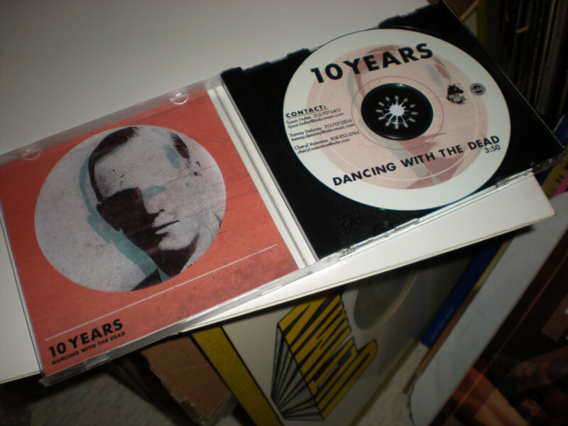 10 Years Dancing With The Dead CD single one track