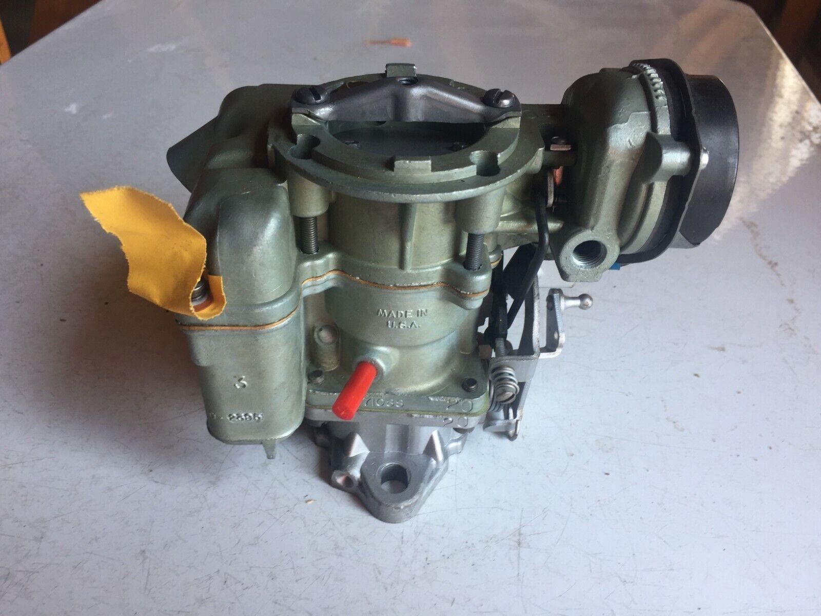 Vintage Ford Carburetor Rebuilt Fits Ford E150,E250 F150, F250  L-6 300cid 1bb