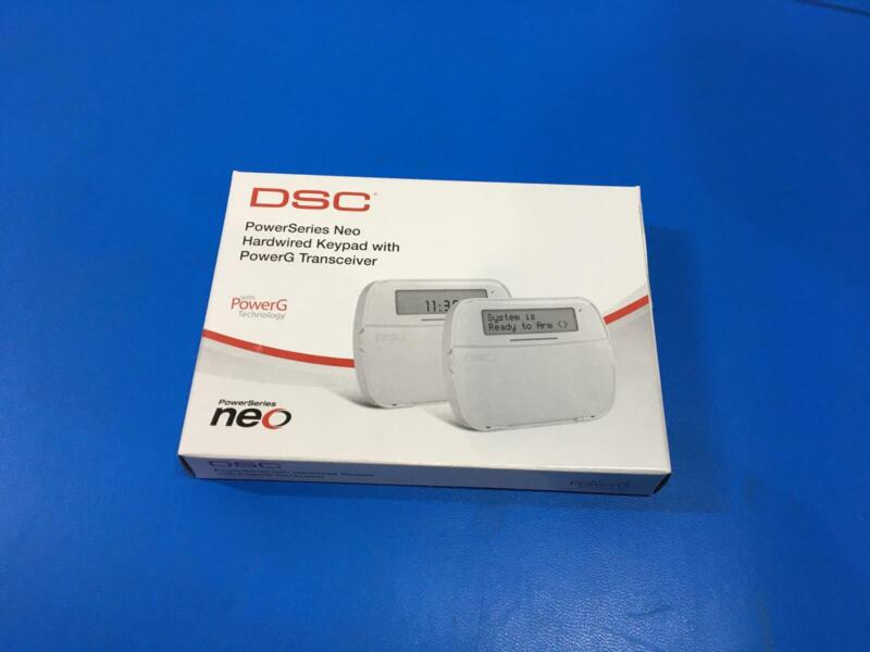 DSC HS2LCDRF9ENG N POWERSERIES NEO HARDWIRED KEYPAD WITH POWERG TRANCEIVER