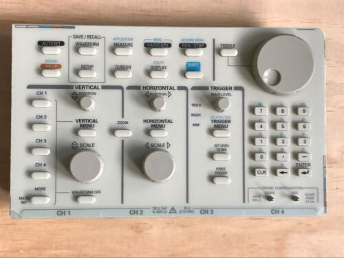 Tektronix TDS540 front panel in excellent working condition p/n 671-2469-01