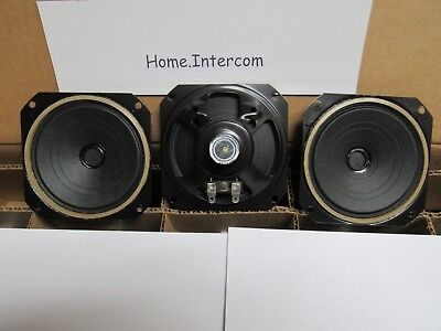 "1 BRAND NEW 8 OHM 3 WATT INTERCOM SPEAKER 3/"" IN INCH PAPER /& FOAM CONE EC9253-02"