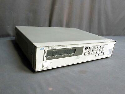 Hp Agilent 6634a 0-100v 0-1a 100w System Dc Power Supply Unit