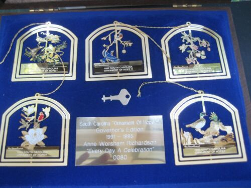 Ornaments of Hope Anne Richardson 1991-1995 SC Governor Limited Edition 0080