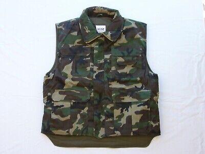 Chaleco camuflaje militar ,talle M.
