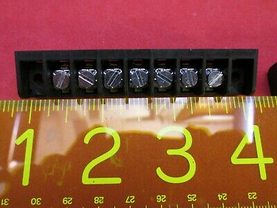 Terminal Strip Barrier Block Screw 15 Amp 150 Volt 7 Pole Position Quantity 10