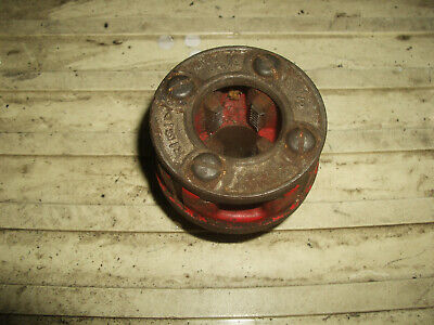 Ridgid 12 Pipe Threading Die 0-r Used Good Condition