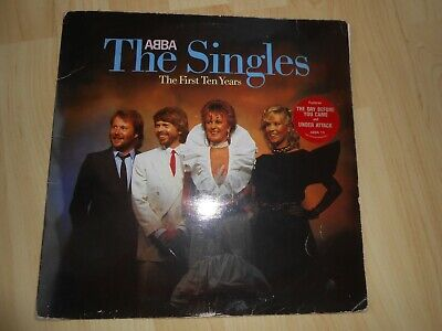 ABBA  The Singles  The First Ten Years  1982 2 Vinyl LP's