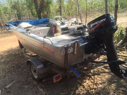 4.29 Stacer nomad 30hp  Gunn Palmerston Area Preview