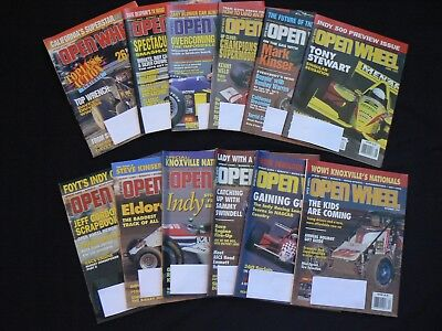 1997 Open Wheel Magazines 12 Issues Outlaws  Sprint Car Indy Knoxville +More