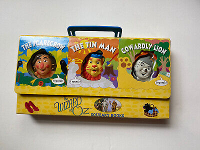 The Wizard Of Oz Squeaky Books/Baby/Toddler Board Books