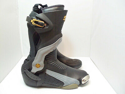 Men's Puma motorcycle leather boots size 44 US 11