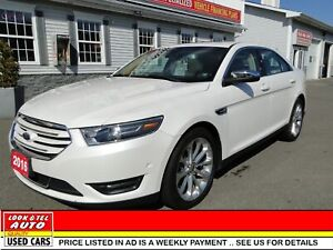 2016 Ford Taurus Limited/ AS LOW AS $99.00 A WEEK
