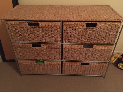 Woven basket drawers/tallboy Cooranbong Lake Macquarie Area Preview