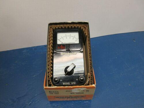 Simpson DC Milliammeter Model 373 Range 1-1000  WORKS