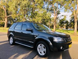 2007 Ford Territory GHIA 7seats 9Months Rego Lgbooks Grey Moorebank Liverpool Area Preview