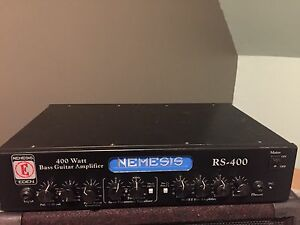 Eden Nemesis RS-400 Bass Amplifier