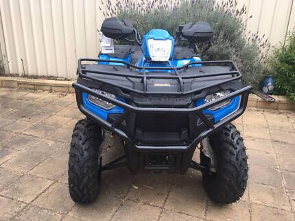 2017 POLARIS FARMHAND 450 2X4 ATV - HEAPED WITH ACCESSORIES Fulham West Torrens Area Preview