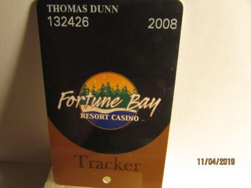 Fortune Bay Resort Casino - Players Slot card - mint