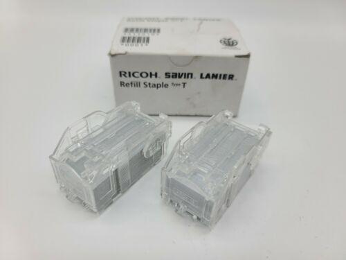 Genuine RICOH Savin Lanier Refill Staples Type T 415010 Box of 2 Cartridges NIB
