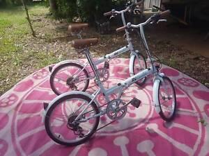 RV Coaster folding bikes