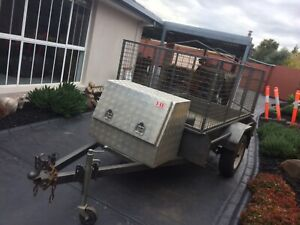 As NEW purchased 2018 $2,700.00 HEAVY DUTY CAGE TRAILER 7ft x 4ft with Taylors Lakes Brimbank Area Preview