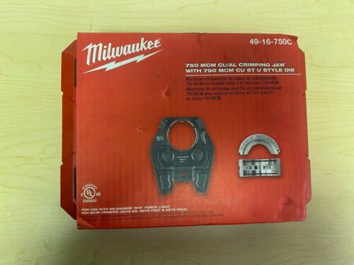 Milwaukee 49-16-750C 750 Mcm Copper 6T U Style Die