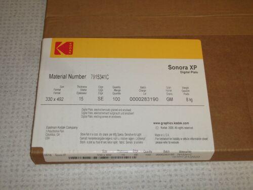 Kodak Sonora XP Digital Plates for Ryobi 3200 Printing Press-Box of 100 Unopened