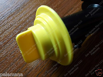 1 New Yellow Stopper Cap Fits Eco Spout Gallon Gas Cans Wedco Briggs Stratton