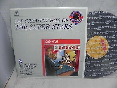 Kansas - The Best Of Kansas 1991 Korea LP / The Super Stars Series