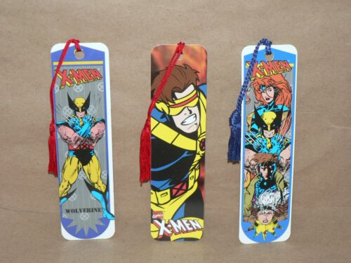 XMEN Bookmarks CHOICE Wolverine Cyclops 4 Character