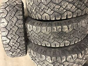 4 pneu lt 225-75r16 goodyear wrangler duratrac