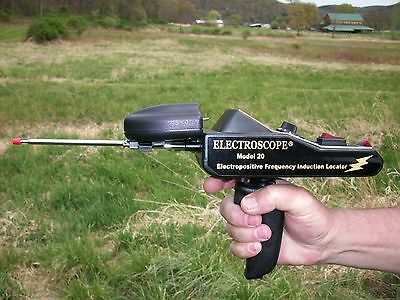 Electroscope Model 20 Long Range Goldsilver Locator Metal Detector Made In Usa