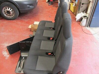 Seat Ford Transit MK8 bench quadruple rear four-seats crew / double cab with kit