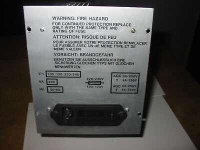 Ssi Switching Systems 20-0028-021 Plus Waters 717 Auto Sampler Power Supply