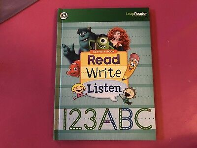 LeapFrog Tag Pen LeapReader book — READ, WRITE AND LISTEN WITH TAG LEAPREADER