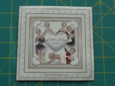 BALLET BELLES EDITION 2 CD-ROM BY FEE J DESIGNS - NEW -