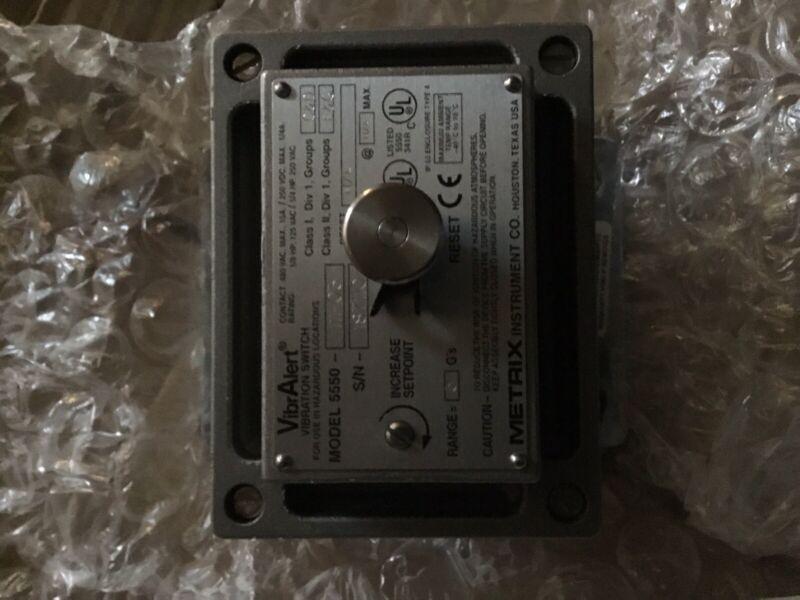 Metrix Instrument 5550-111-03 Vibralert Vibration Switch NEW