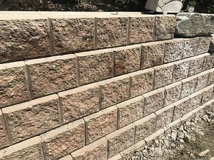 Expocrete Pisa II retaining wall blocks $4 per block