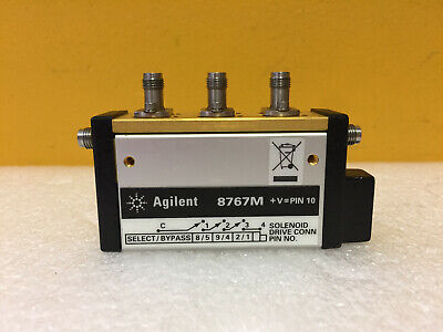 Agilent Hp 8767m-101-024 Dc To 50 Ghz 2.4mm F Multiport Switch. Tested