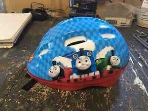 Thomas helmet.