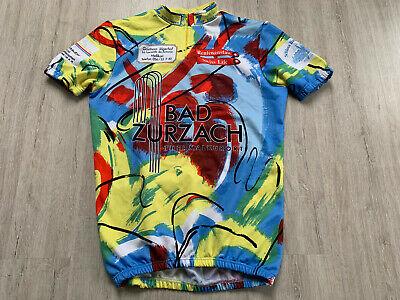 Shirt mit Sublimationsdruck Herren Radtrikot Fahrrad Radler-Trikot