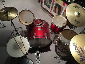 Drum kit for learners or parts Knoxfield Knox Area Preview