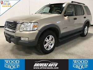 2006 Ford Explorer XLT 4WD, LEATHER, WINTER TIRES
