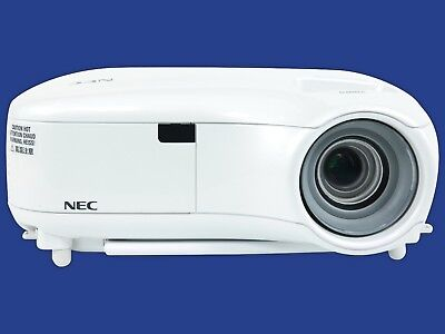 NEC LT380 LCD Projector Wireless 3000 Lumens HDMI Adapter HD 1080i w/Accessories