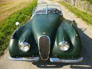 "Jaguar XK 120  OTS   ROADSTER   "" original mit Patina """