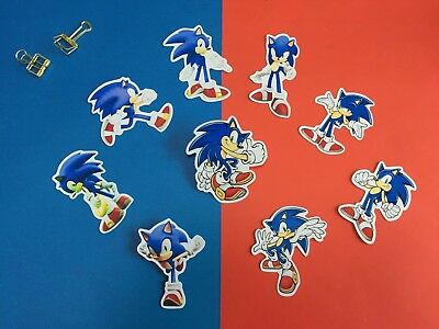 9 sonic the hedgehog Sonic matt gloss water transfer tattoo t-shirt  sticker ](Sonic The Hedgehog Tattoo)
