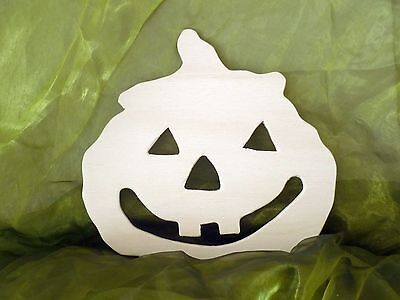 Kürbis aus Sperrholz / Basteln / Halloween / Herbst / Holz - Halloween Basteln