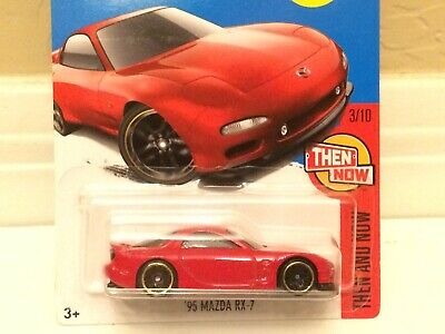 Hot Wheels 2017 HW '95 Mazda RX-7 FD ROTARY Wankel Kmart Exclusive Red